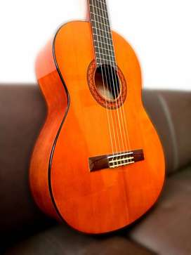 Guitarra Acústic C40 Yamaha+ Funda Semidura+ Spray Limpiador
