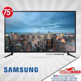 Televisor Samsung Smart 75 Pulgadas Ultra HD 4K NU7100