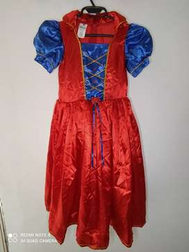 Disfraz Princesa Para Niña Rojo ( Tiene 1 Sola Postura)
