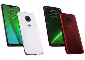 Motorola Moto G7 Plus 64 gb 4 ram 4G Funda Libres Gtia