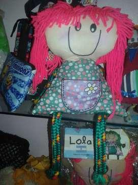 Muñequitas Lola Mora Varios Colores