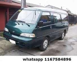 Hyundai H100 2.5 12 Pas Super Minibus