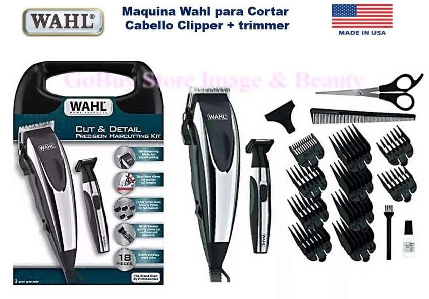 Wahl Set Cortapelos Cut Detail Wahl 18 Piezas