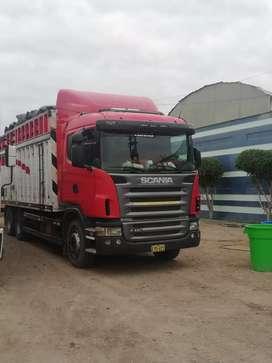 Vendo camión original  scania G420 en perfectas condiciones.