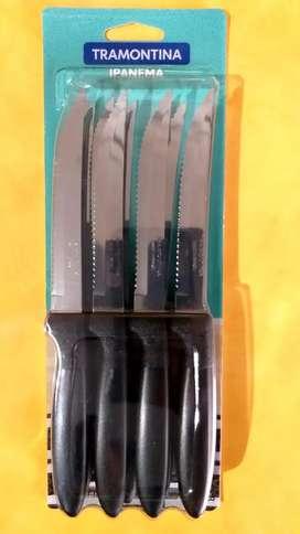 Cuchillos de mesa tramontina ipanema