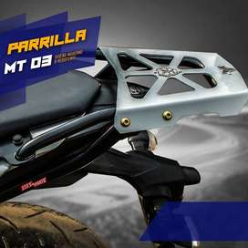 PARRILLA / SLIDER / PROTECTOR DE MANOS / PORTA ALFORJA /  CÚPULA PARA MOTO LINEAL Y SCOOTER / YAMAHA / HONDA / PULSAR
