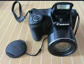Cámara Canon PowerShot SX420 IS - 20 Mpx - Zoom Óptico 42x - Video HD - Wi-Fi  USB 2.0 - Negro POCO USO