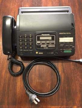 Fax Teléfono Panasonic Kx-F 890