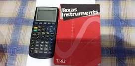Calculadora Ti 83 Graficadora Matrices Financiera