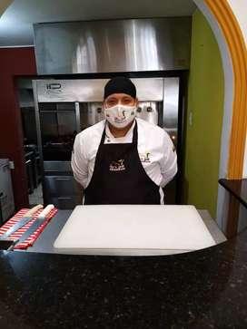 Busco trabajo como auxiliar de cocina