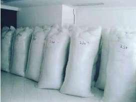 Relleno de algodón siliconado paquete de 5 kilos