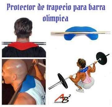 Protector de trapecio para barra olimpica 0