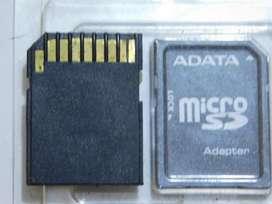 Adaptador para micro SD 3.700 pesos sur de cali
