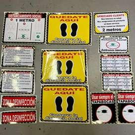 Kit de señalización para empresas