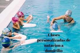 CLASES DE NATACIÓN PERSONALIZADAS A DOMICILIO