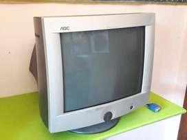 Art 692 Monitor VGA CT720g sin cable de alimentacion Marca Aoc 14 Pulgadas