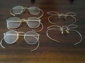 Gafas Cola de Raton Antig. Herm. Unicas