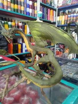 Dragón porcelánicron 45cm