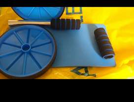 doble rueda abdominal