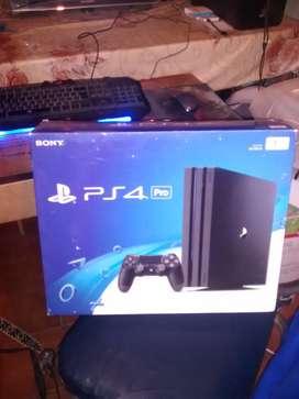 Vendo Urgente!!! Playstation 4 Pro. Nueva.