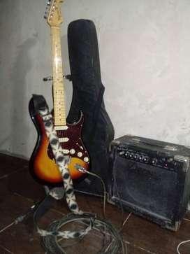 Guitarra electrica estratocaster