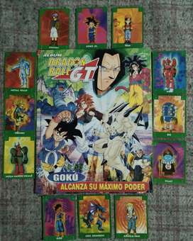 Álbum de figuritas Dragon Ball GT