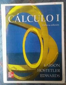 Libro Calculo I, Mc Graw Hill 8va. Edición Larson, Hostetler, Edwards. PRECIO NEGOCIABLE