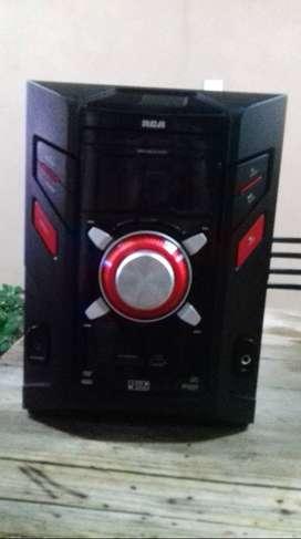 EQUIPO DE AUDIO RCA P/reparar mod. RS-4200 c/dvd