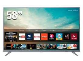 Televisor PHILIPS 58 pulgadas Smart 4K Ultra HD