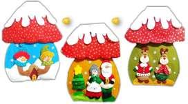 NAVIDAD Forros hongo navideño valor unidad