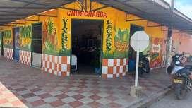 Vendo o permuto  por vehículo  menor valor casa comercial  en chimichagua