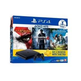 PlayStation 4 slim con tres juegos en perfecto estado con 500 gb en perfecto estado casi nuevo