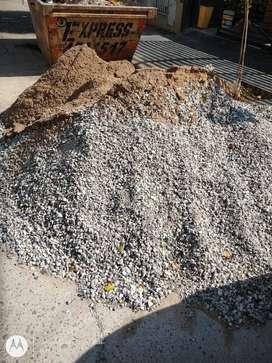 Líquido Arena y piedra lavada