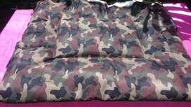 Acolchado para perro con diseño camuflado Nª 2
