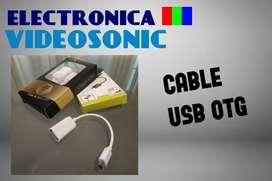 Cable USB OTG!!! Tenemos Stock.