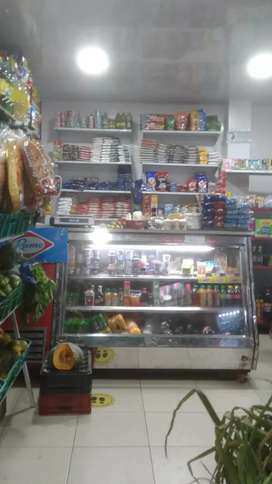 Vendo mini supermercado