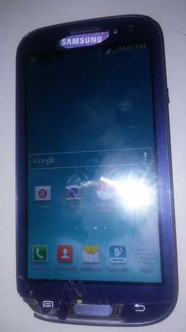 Samsung s3 libre astillado andando