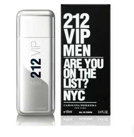 Perfume Carolina Herrera 212 Vip Hombre 100ml Original