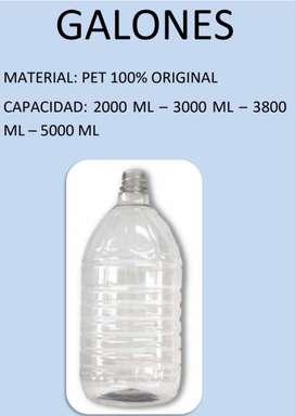Envases en PET