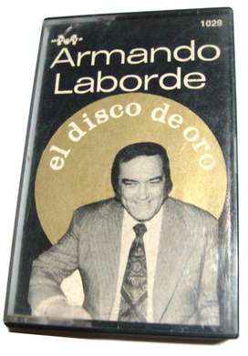 Cassette Armando Laborde El Disco De Oro Casete Exitos Tango