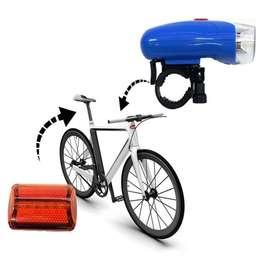 Juego de Luz Led de Bicicleta  Pilas