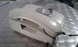 FUNCIONA TELEFONO ANTIGUO DE BAQUELITA A DISCADO VINTAGE COLECCION