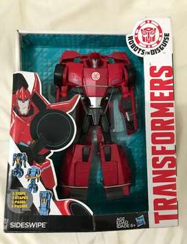 Transformers Robots In Disguise Sideswipe hasbro