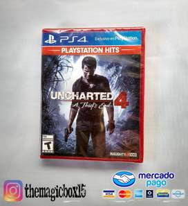 Uncharted 4 - Ps4 Nuevo