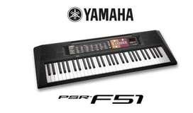 Teclado Yamaha Psr F51 5/8 Nuevos Piano/Organeta