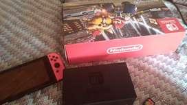 Nintendo swicth mas tres juegos