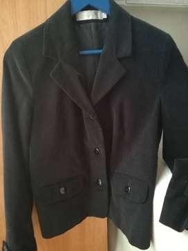 Blazer Saco Chaqueta Negro Impecable Talle S - M  Pana Sabrina