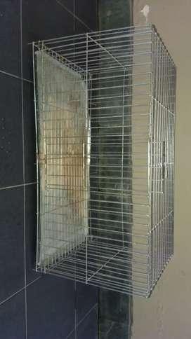 Vendo jaula de aluminio galvanizado
