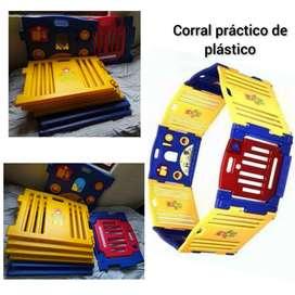 Corral plástico multicolor