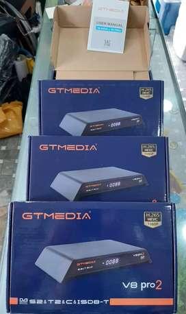 Decodificador FTA  GTMEDIA V8 pro 2
